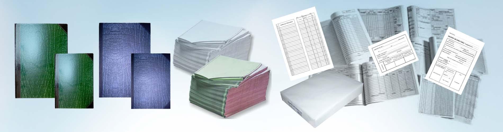 Registre, tipizate, hartie imprimanta