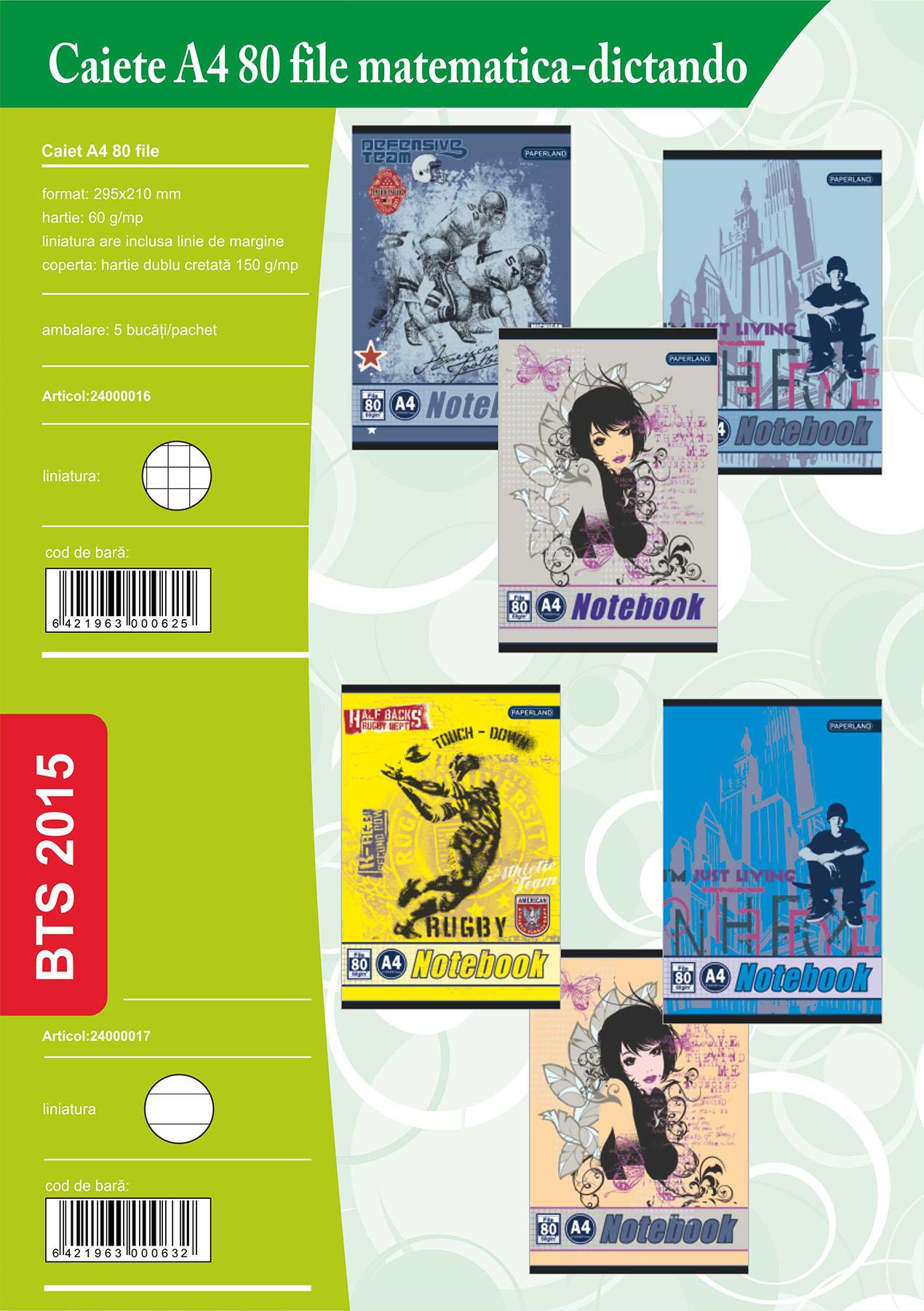 Caiete A4 80 file Image