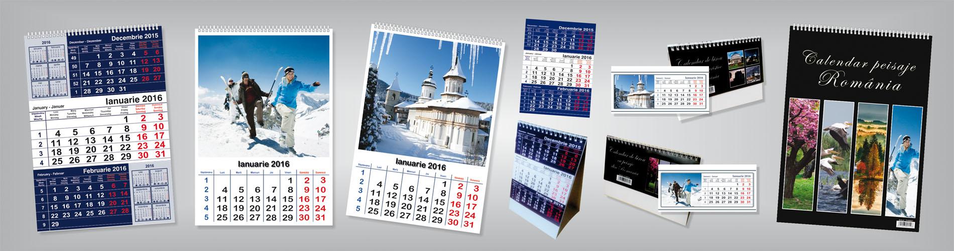 Calendare 2016
