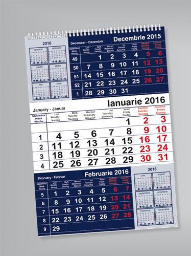 calendar triptic Image
